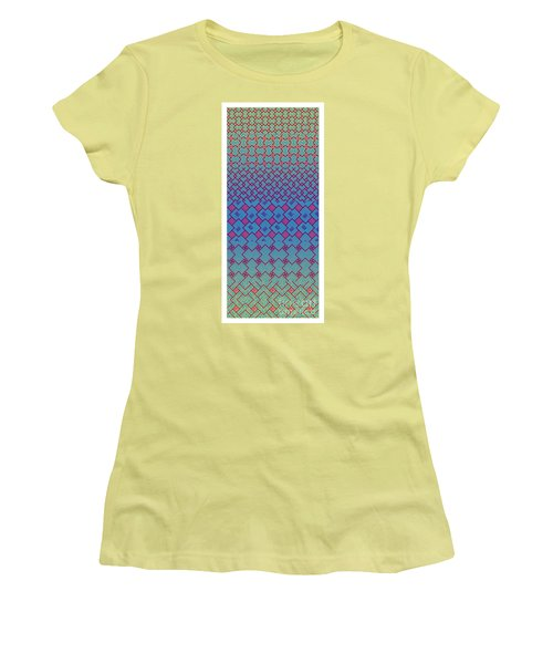 Bibi Khanum Ds Patterns No.3 Women's T-Shirt (Athletic Fit)