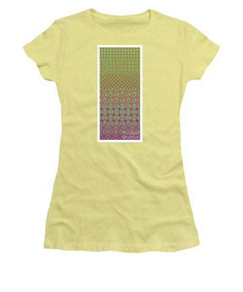 Bibi Khanum Ds Patterns No.8 Women's T-Shirt (Athletic Fit)