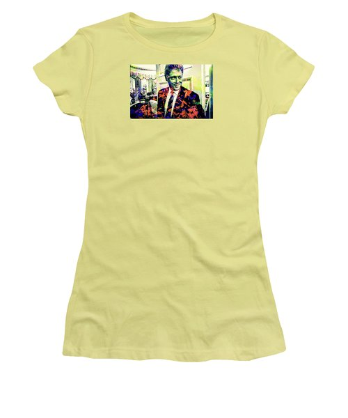 Bill Clinton Women's T-Shirt (Junior Cut) by Svelby Art