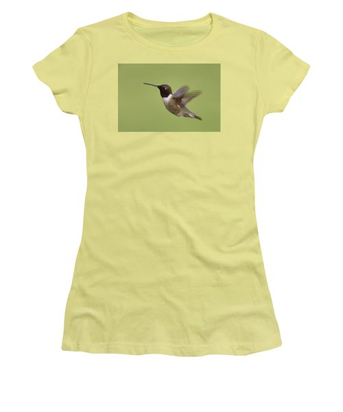 Black-chinned Hummingbird Women's T-Shirt (Junior Cut)