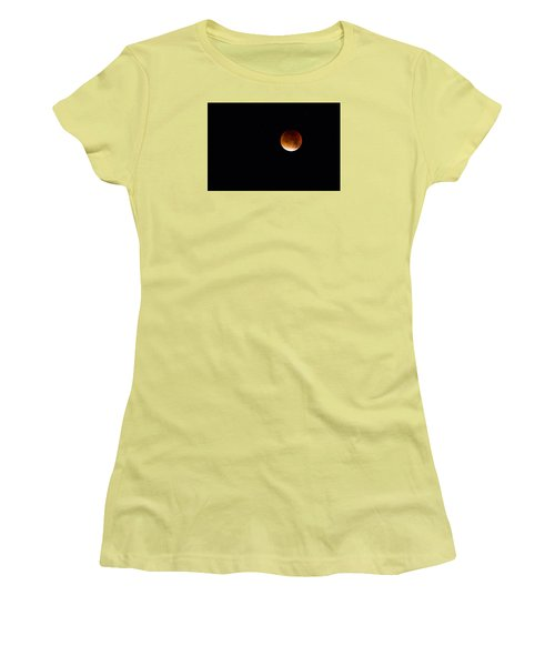 Blood Moon Super Moon 2015 Women's T-Shirt (Athletic Fit)