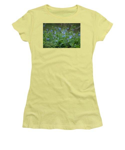 Blue Bells Women's T-Shirt (Junior Cut) by Heidi Poulin