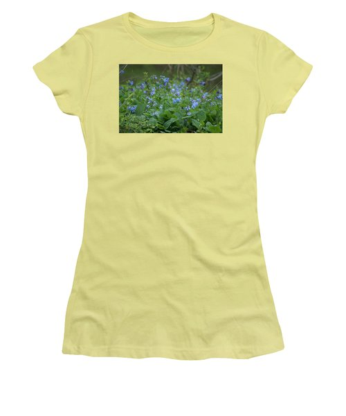 Blue Bells Women's T-Shirt (Athletic Fit)