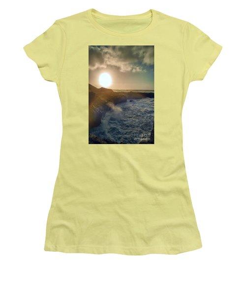 Blueside Women's T-Shirt (Junior Cut) by Billie-Jo Miller
