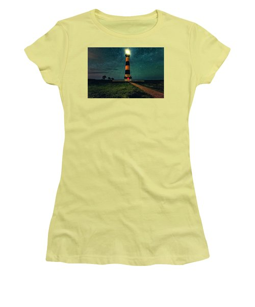 Bodie Island Night Women's T-Shirt (Athletic Fit)