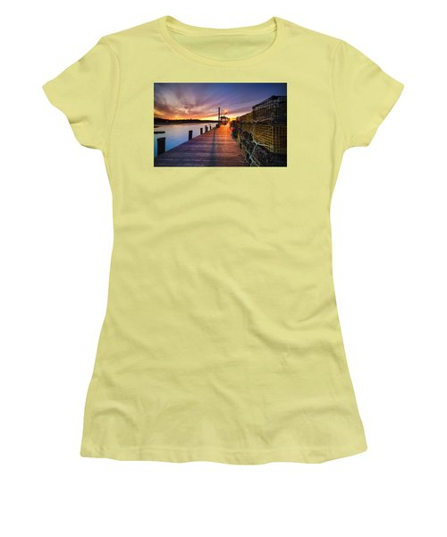 Cape Porpoise Women's T-Shirt (Athletic Fit)