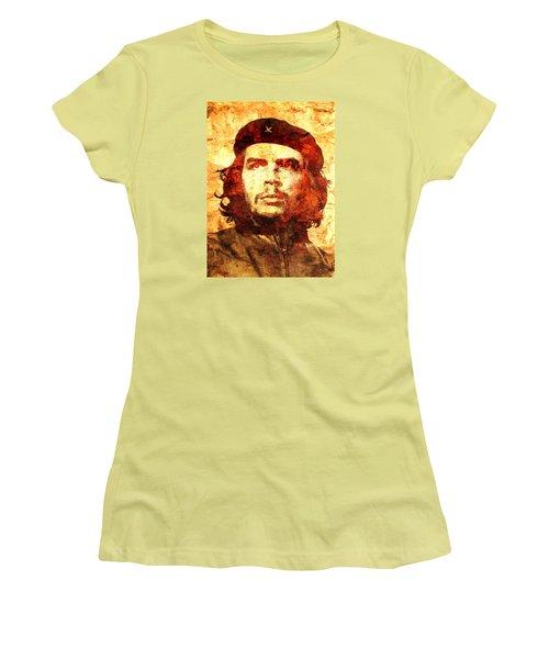 Che Guevara Women's T-Shirt (Junior Cut) by J- J- Espinoza