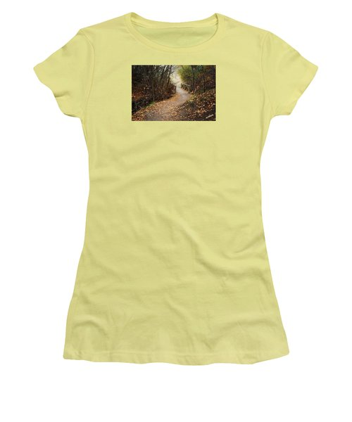 City Creek Bridge Women's T-Shirt (Athletic Fit)