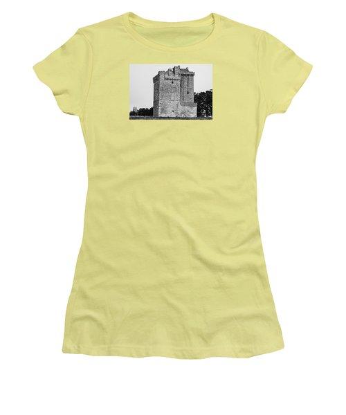 Clackmannan Tower Women's T-Shirt (Junior Cut) by Jeremy Lavender Photography
