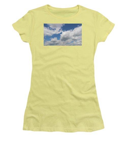 Clouds 16 Women's T-Shirt (Junior Cut) by Rod Ismay