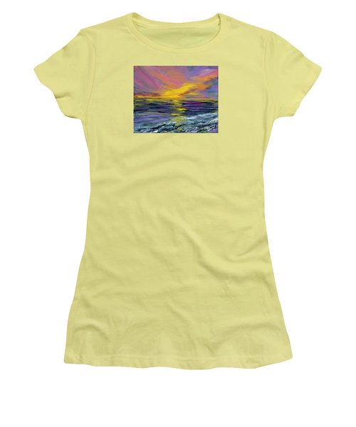 Collection Art For Health And Life. Painting 8 Women's T-Shirt (Junior Cut) by Oksana Semenchenko