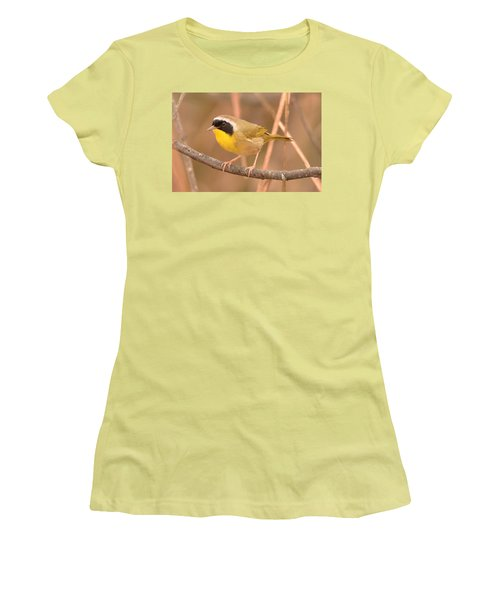 Common Yellow-throat Women's T-Shirt (Athletic Fit)