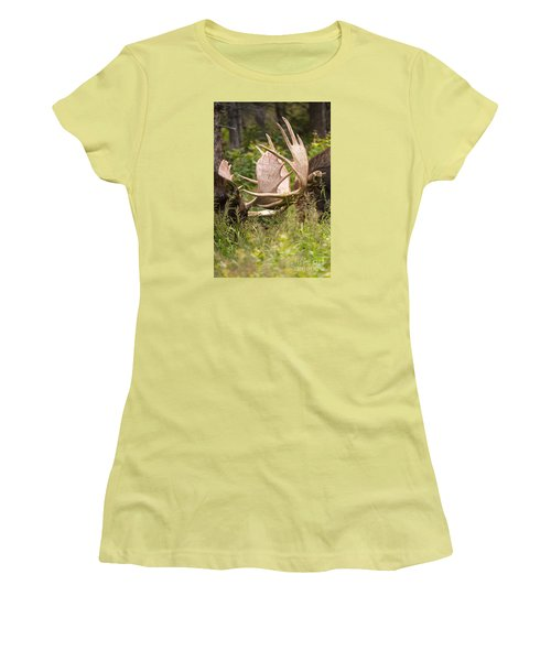 Women's T-Shirt (Junior Cut) featuring the photograph Engaged by Aaron Whittemore