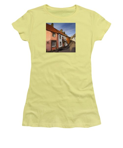 Women's T-Shirt (Junior Cut) featuring the photograph Culross by Jeremy Lavender Photography