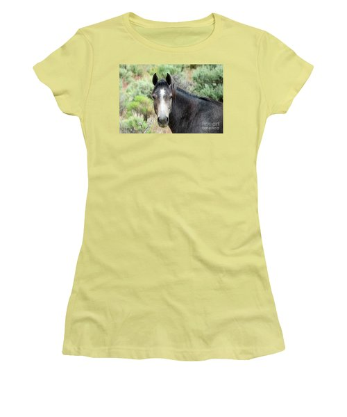 Women's T-Shirt (Junior Cut) featuring the photograph Curious by Michele Penner