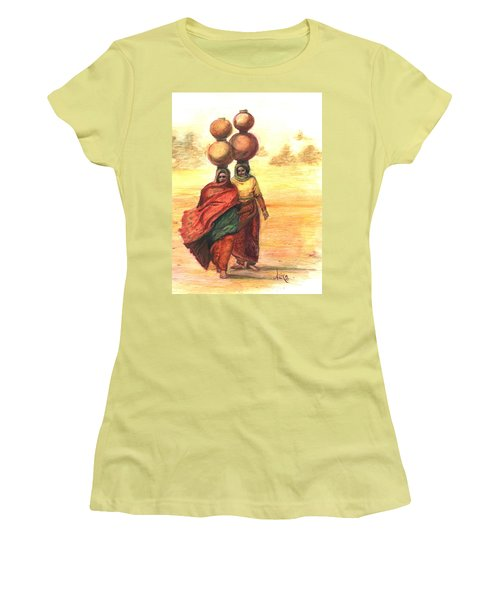 Daily Desert Dance  Women's T-Shirt (Athletic Fit)