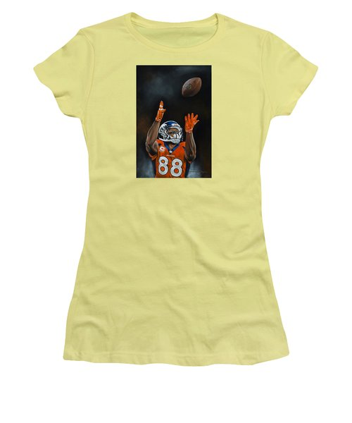 Demaryius Thomas Women's T-Shirt (Athletic Fit)