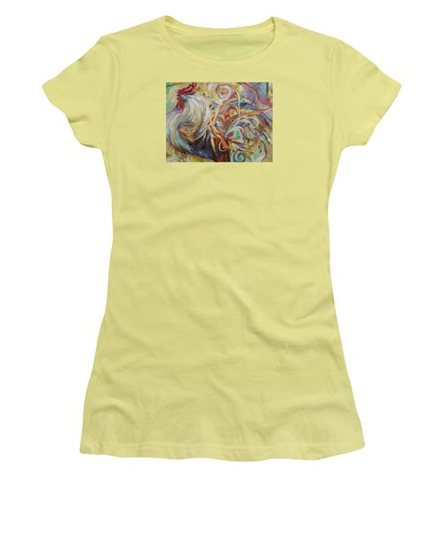 Doodle Do Women's T-Shirt (Junior Cut) by Heather Roddy