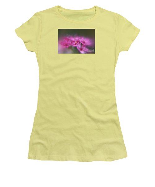 Women's T-Shirt (Junior Cut) featuring the photograph Dreaming  by Yumi Johnson