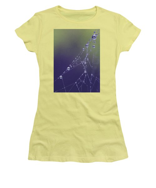 Droplets Women's T-Shirt (Athletic Fit)