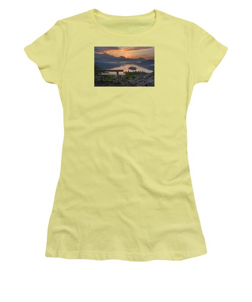 Early Morning Women's T-Shirt (Junior Cut) by Robert Krajnc
