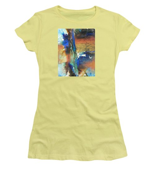 Electric And Warm Women's T-Shirt (Junior Cut) by Becky Chappell