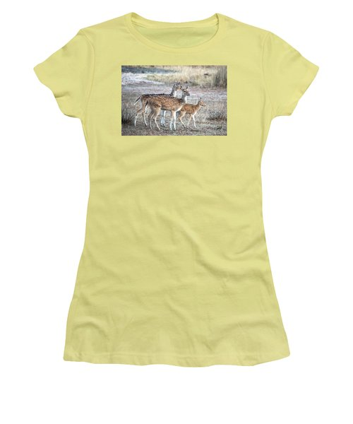 Family Outing Women's T-Shirt (Junior Cut) by Pravine Chester