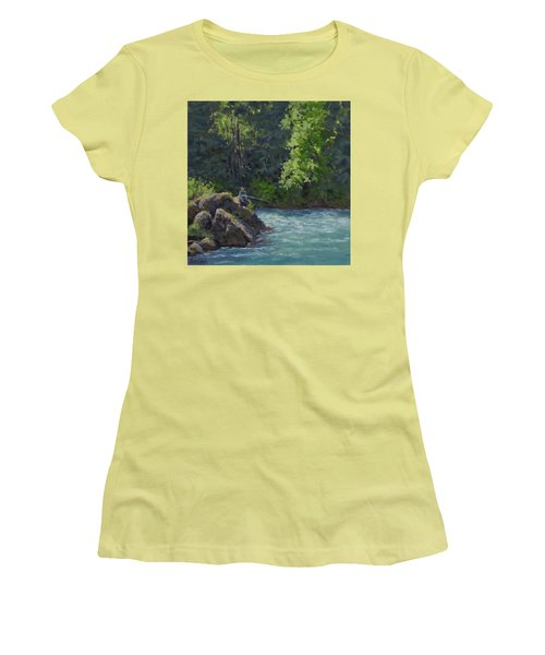 Favorite Spot Women's T-Shirt (Athletic Fit)