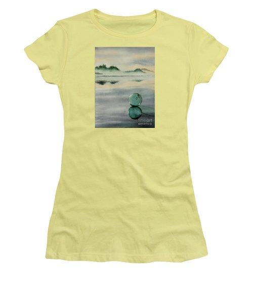 Fish Net Float Women's T-Shirt (Athletic Fit)