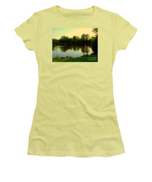 Forest Park Women's T-Shirt (Junior Cut) by Nancy Kane Chapman