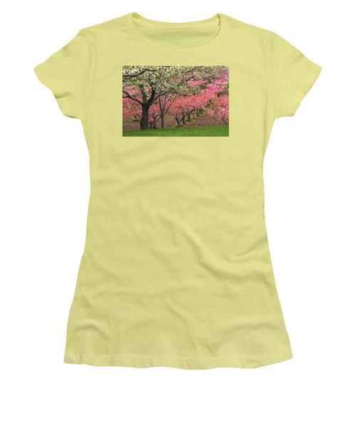 Fruit Orchard Women's T-Shirt (Athletic Fit)