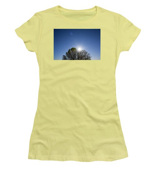 Full Moon Rising Women's T-Shirt (Athletic Fit)