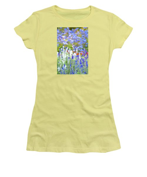 Garden Impression Women's T-Shirt (Junior Cut) by Tim Good