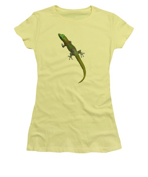 Gecko  Women's T-Shirt (Athletic Fit)