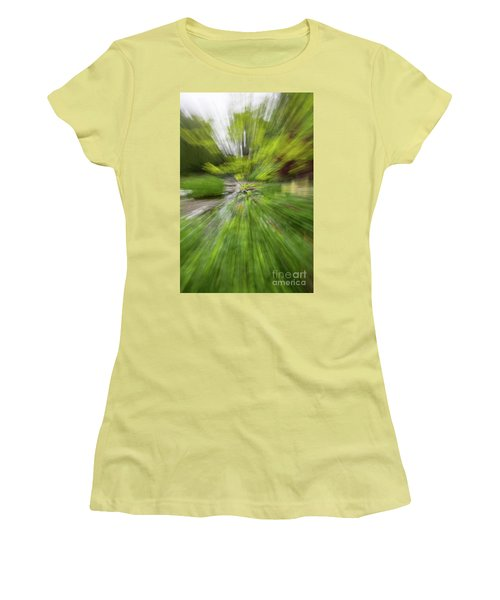 Giverny Monet's Garden Women's T-Shirt (Athletic Fit)