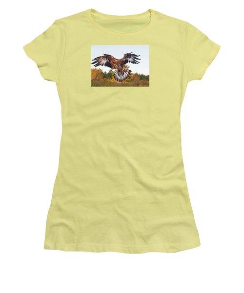 Golden Eagle Women's T-Shirt (Athletic Fit)