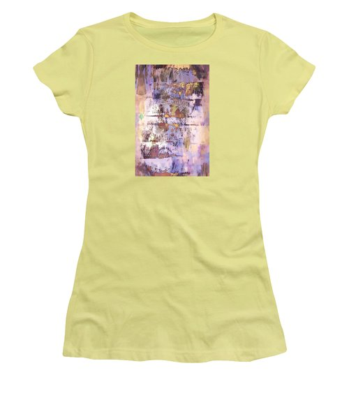 Grungy Abstract  Women's T-Shirt (Athletic Fit)