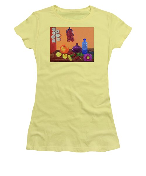 Hanging Around With Spices Women's T-Shirt (Athletic Fit)