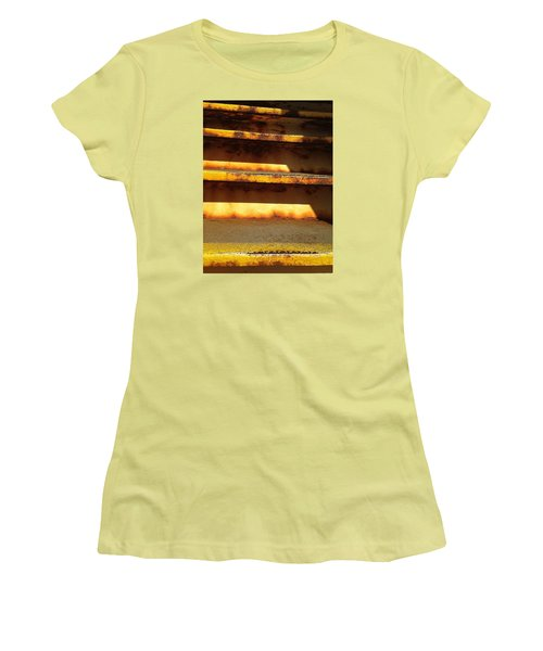 Women's T-Shirt (Junior Cut) featuring the photograph Heavy Metal by Olivier Calas