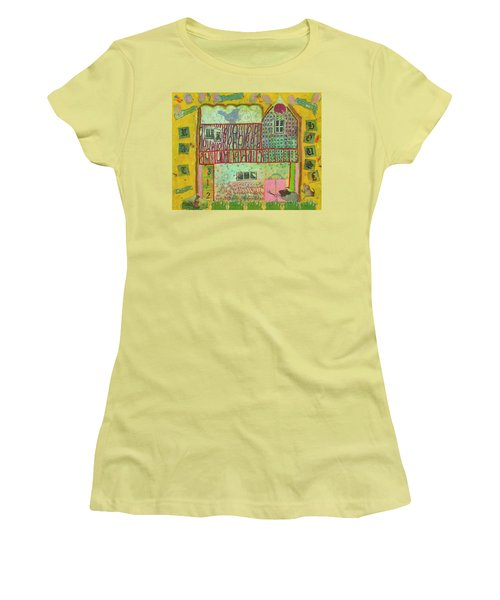 House #3 Women's T-Shirt (Athletic Fit)