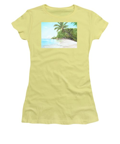 In Paradise Women's T-Shirt (Athletic Fit)