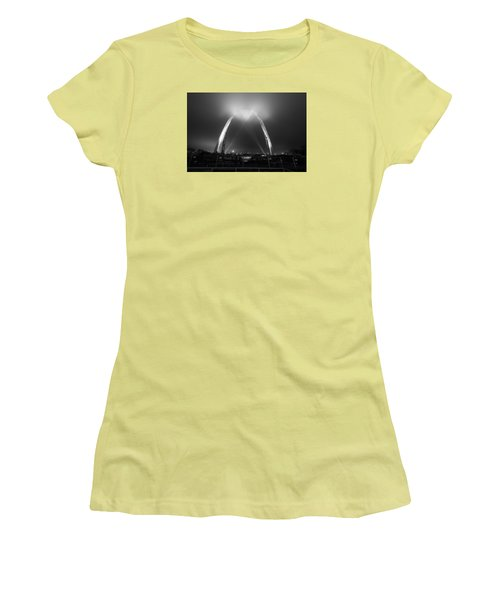 Jefferson Expansion Memorial Gateway Arch Women's T-Shirt (Athletic Fit)