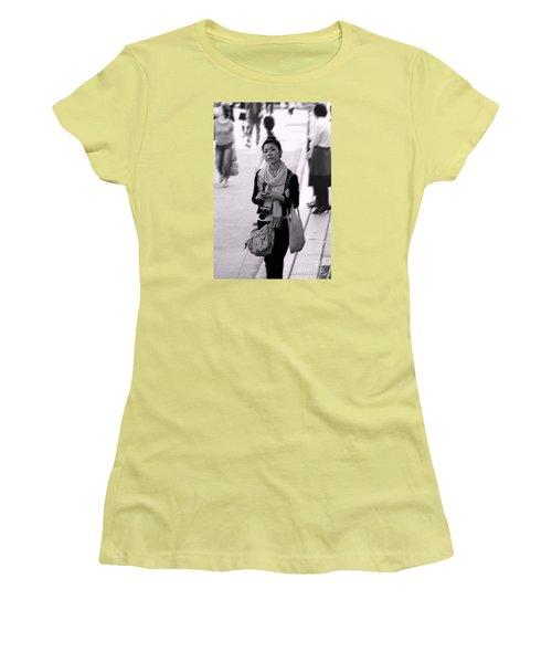 Women's T-Shirt (Junior Cut) featuring the photograph Jidai Matsuri Xv by Cassandra Buckley