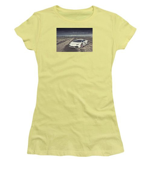 Lamborghini Huracan Women's T-Shirt (Athletic Fit)