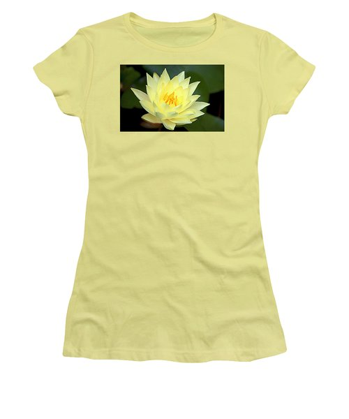 Women's T-Shirt (Junior Cut) featuring the photograph Lily by Jerry Cahill