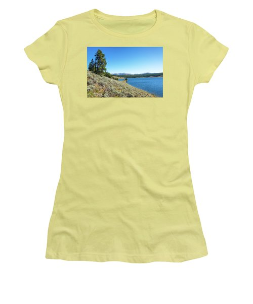 Meadowlark Lake View Women's T-Shirt (Athletic Fit)
