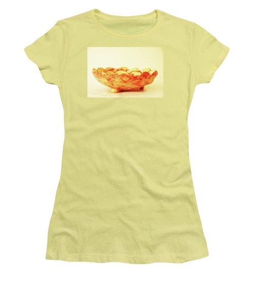 Medium Patches Bowl1 Women's T-Shirt (Junior Cut) by Itzhak Richter
