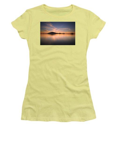 Mountain Sunset Women's T-Shirt (Junior Cut)