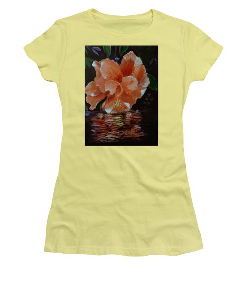 My Hibiscus Women's T-Shirt (Athletic Fit)
