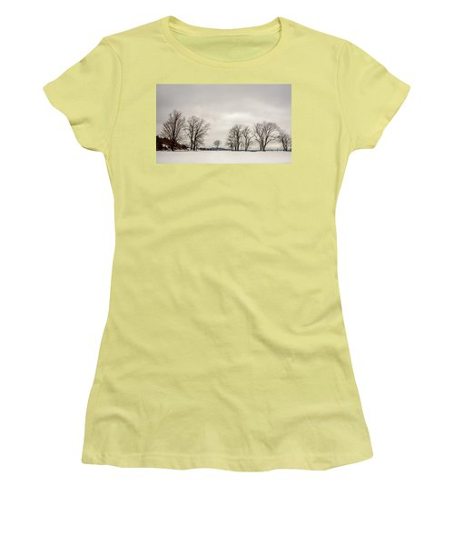 Naked Treeline Women's T-Shirt (Athletic Fit)